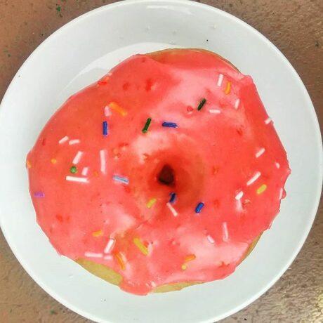 Vegan Simpson's Donut